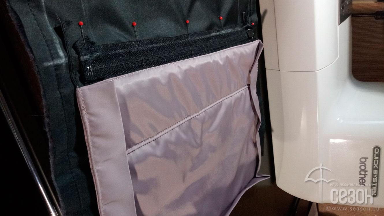 Виды карманов в сумках